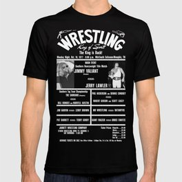 #4-B Memphis Wrestling Window Card T-shirt