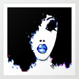 Blue Like Morning Art Print