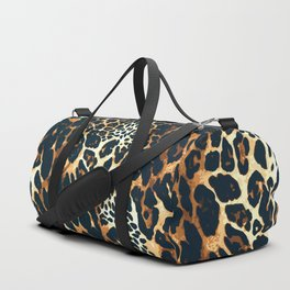 Leopard Spotted Animal Print Duffle Bag