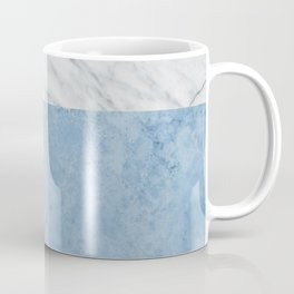 Porcelain blue and white marble Coffee Mug
