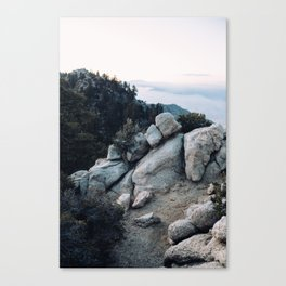 San Jacinto Boulders Canvas Print
