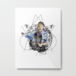 Immaculate Metal Print