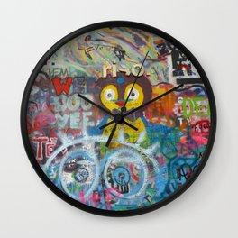Graffiti Love Wall Clock