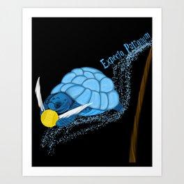 Expecto Patronum Turtle Art Print