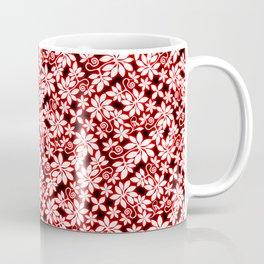 Electric Red Garden Coffee Mug