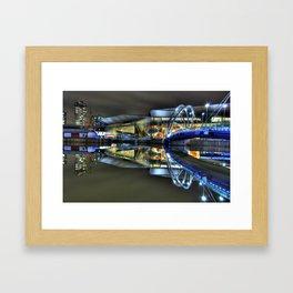 Melbourne Exhibition Center Framed Art Print