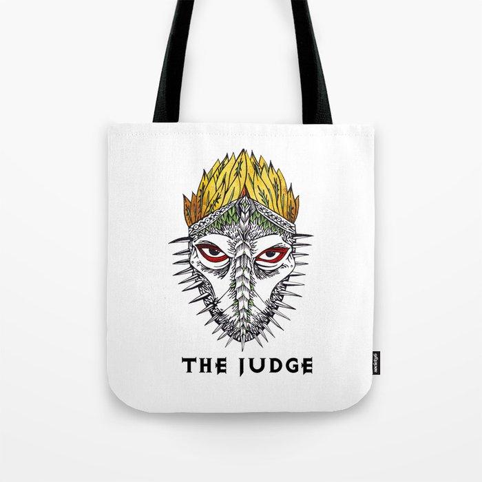 The judge Tote Bag