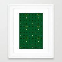 ninja turtles Framed Art Prints featuring Turtles by AboveOrdinaryArts