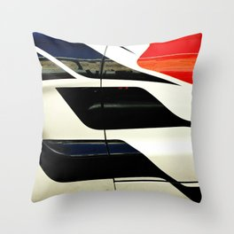 Car Door Geometric Abstract Throw Pillow