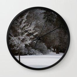 Winter Magic Wall Clock