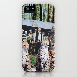 Cheetah Wars iPhone Case