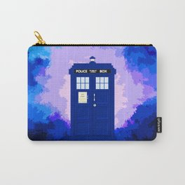 Tardis The Blue Phone Both Carry-All Pouch