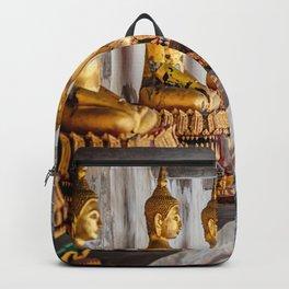 Golden Buddhas Backpack