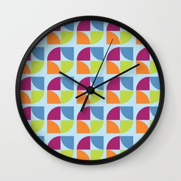 Connecting Leaves I Wall Clock