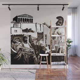 PERICLES - the speech Wall Mural