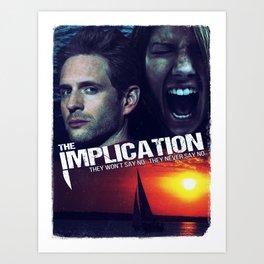 The Implication Art Print