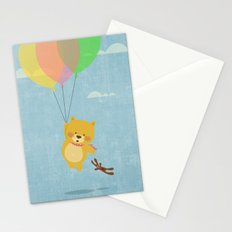I can fly! Stationery Cards