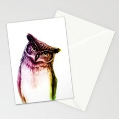 The wise Mr. Owl Stationery Cards