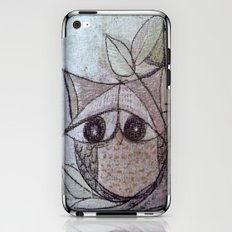 Owl couple iPhone & iPod Skin