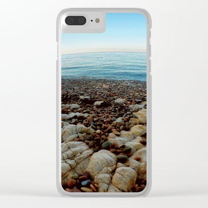 Secret bay Clear iPhone Case