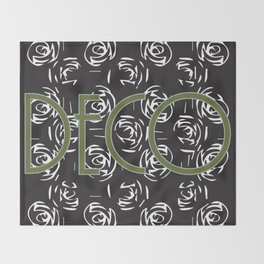 Deco print Throw Blanket