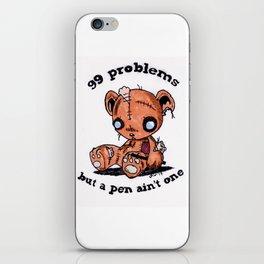 99 Problems iPhone Skin