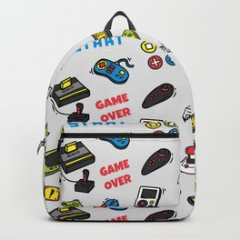 Video Game Controls Pattern Backpack