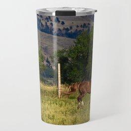 Mare and Foal Travel Mug