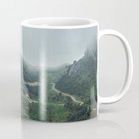 europe Mugs featuring Peaks of Europe 2 by Svetlana Korneliuk