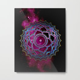 The Colorful Chakra on the Universe No:2 Metal Print