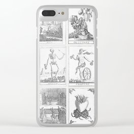 Tarot Cards Clear iPhone Case