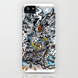 Eagle Vs Drone iPhone Case