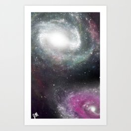 Galaxiii  Art Print