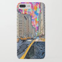 Doodle town NYC Slim Case iPhone 7 Plus