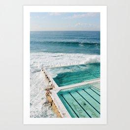 Bondi Beach Art Print