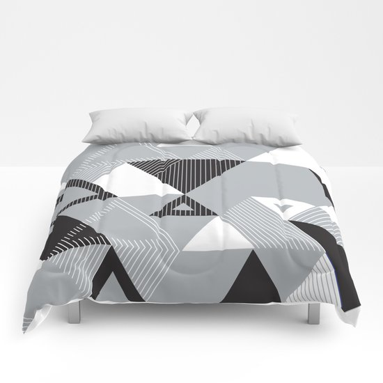 Silver Transparency Comforters