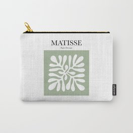 Matisse - Papier Découpé (Green) Carry-All Pouch
