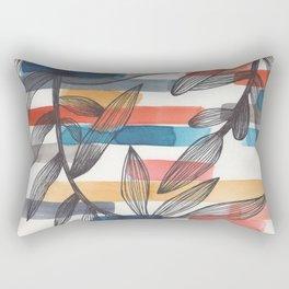 striped branches 2.0 Rectangular Pillow