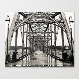 Walnut Street Bridge No. 10 Canvas Print
