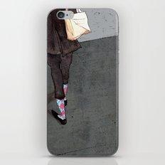 Argyle Socks by Kat Mills iPhone & iPod Skin
