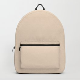From The Crayon Box - Almond Solid Color Backpack