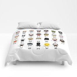 Horror Movies Alphabet Comforters
