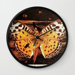 Lady in Waiting Wall Clock