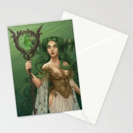 Taurus, the Determined Stationery Cards