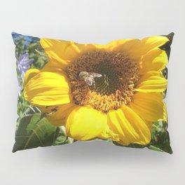 Bee on sunflower Pillow Sham
