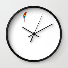 I'm Not Single I have a Parrot Relationship T-Shirt Wall Clock