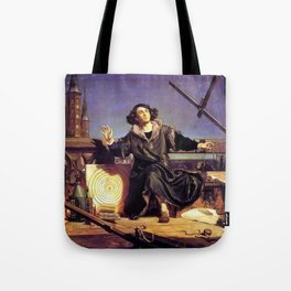 Matejko-Astronomer Copernicus-Conversation with God Tote Bag
