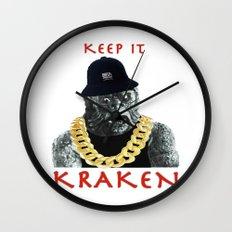 KEEP IT KRAKEN Wall Clock