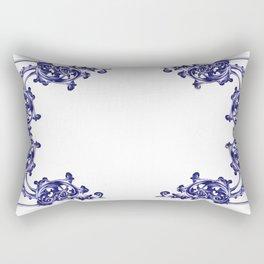 damask patern Rectangular Pillow