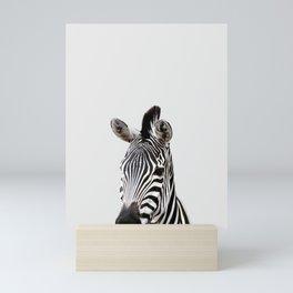 Zebra, African Animal Mini Art Print